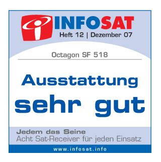 Octagon_SF518_INFOSAT-Testlogo