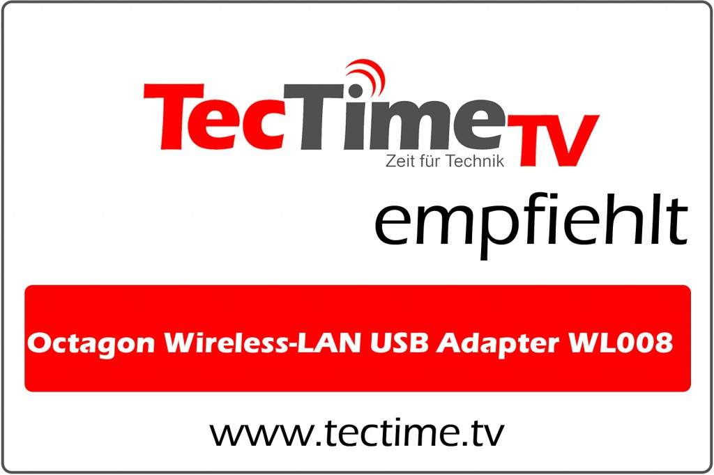 TecTime TV-Empfehlung Wireless-Lan USB Adapter WL008