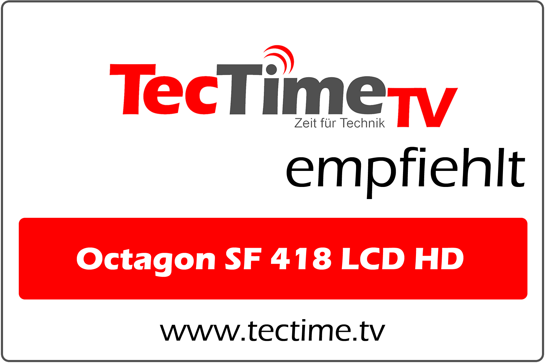 TecTime TV-EmpfehlungSF 418 LCD HD