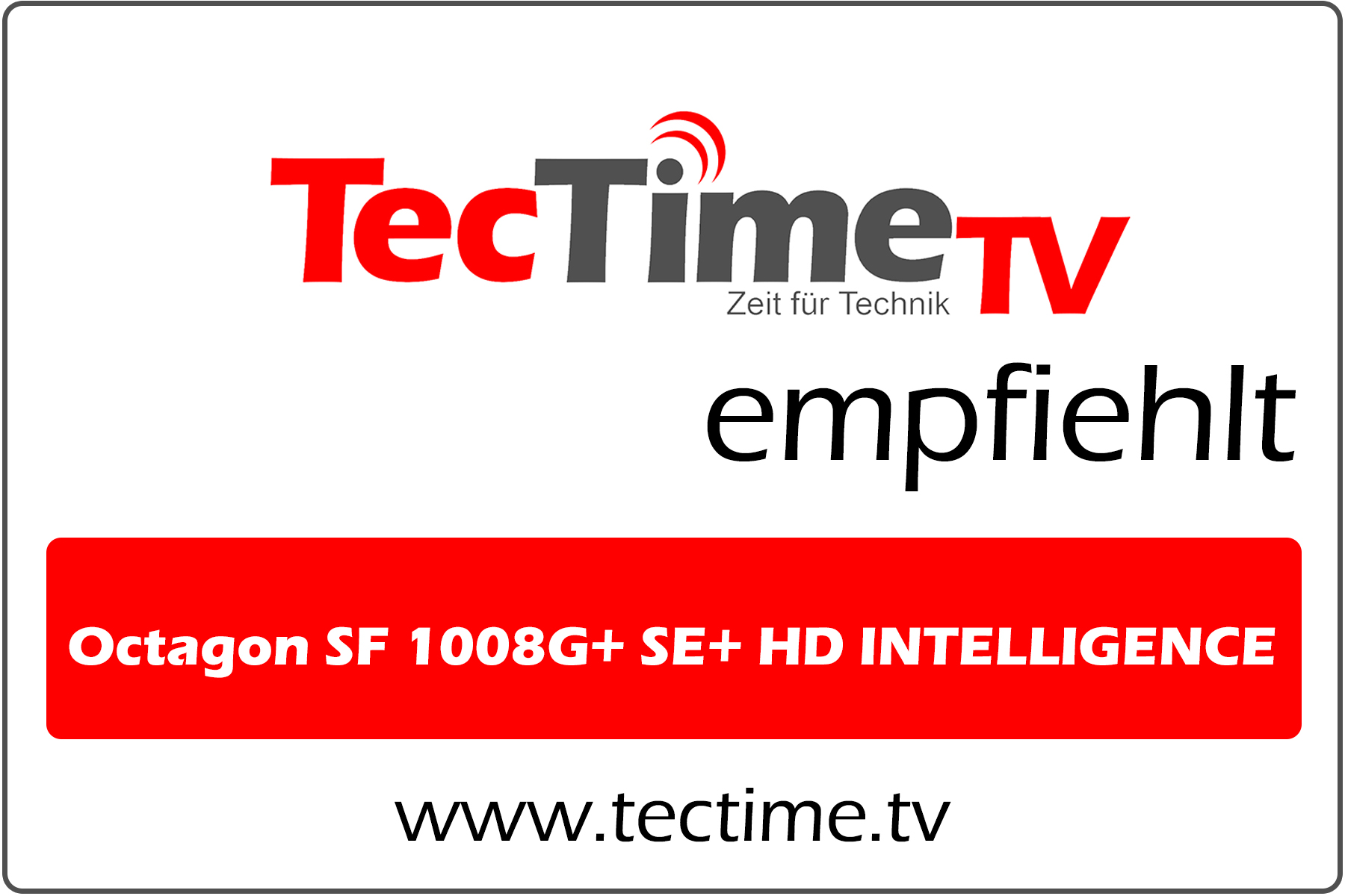 TecTime TV-Empfehlung_OctagonSF1008G+