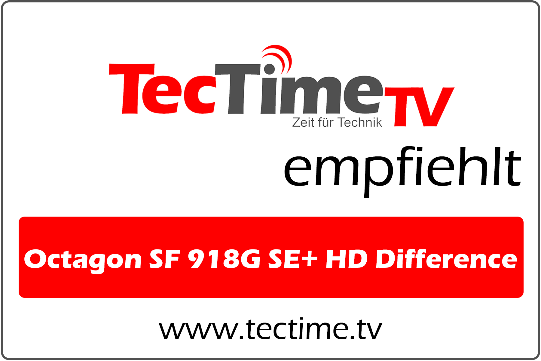TecTime TV-Empfehlung_OctagonSF918G