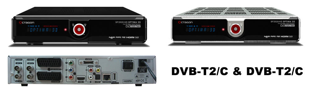 OCTAGON SF2028 Twin Optima DVB-S2 Hybrid_2028_DVB-2xDV