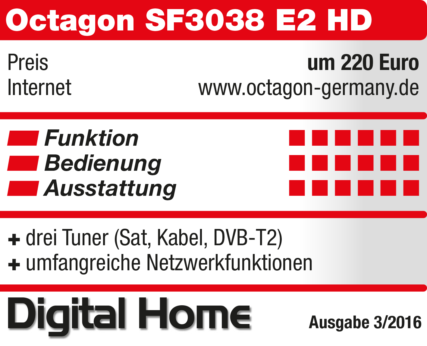DigitalHome_OCTAGON_SF3038