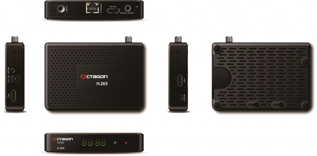OCTAGON SX88 H.265 HEVC HD