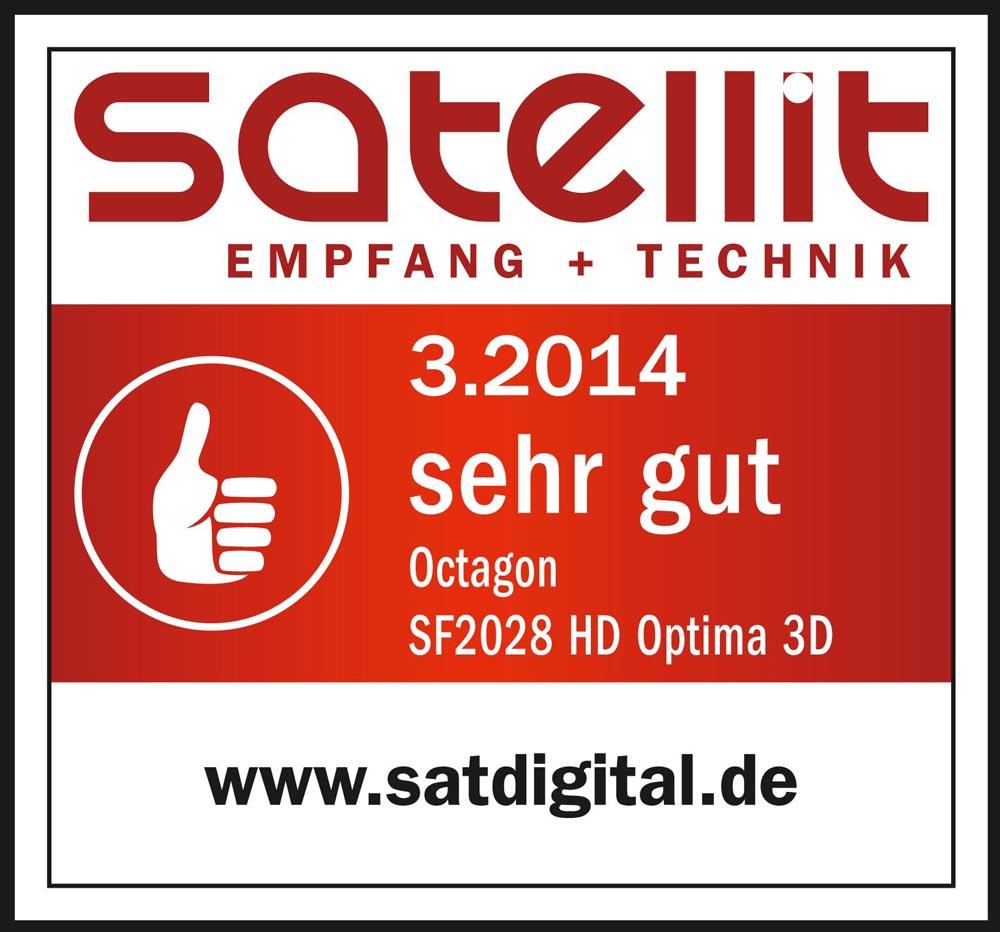 Octagon SF2028 HD Optima 3D satellit_web