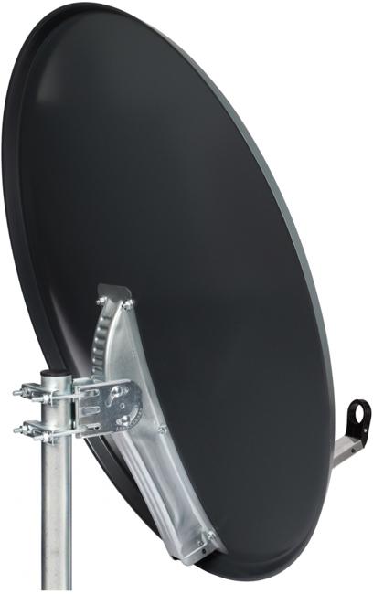 octagon sat antenne 100cm anthrazit octagon. Black Bedroom Furniture Sets. Home Design Ideas
