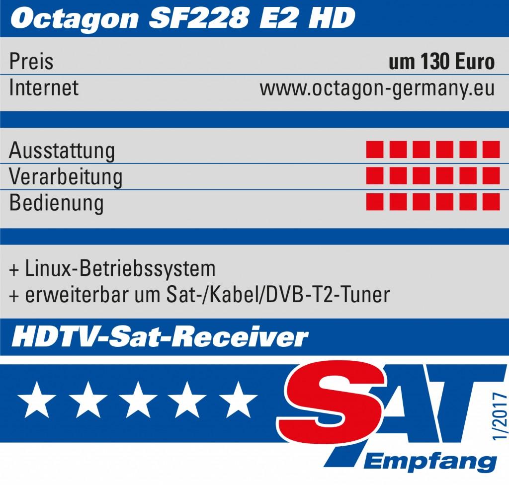 Octagon-sf228-sehrgut-satempfang