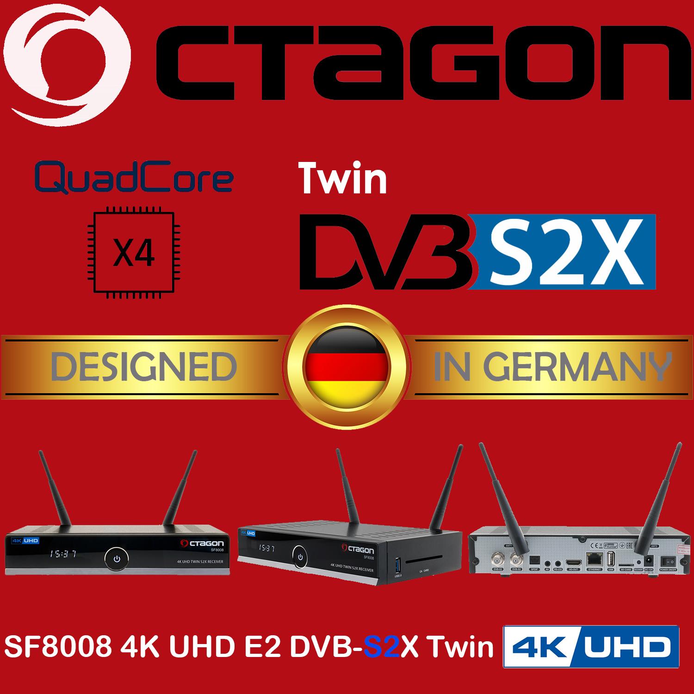 new firmware octagon sf8008 via usb